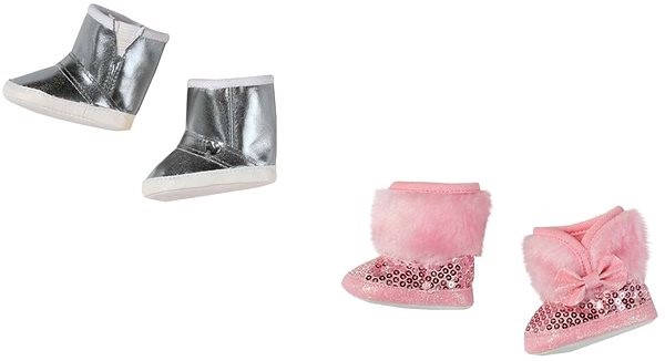 BABY Born Winter Shoes 1pc - Doll Accessory