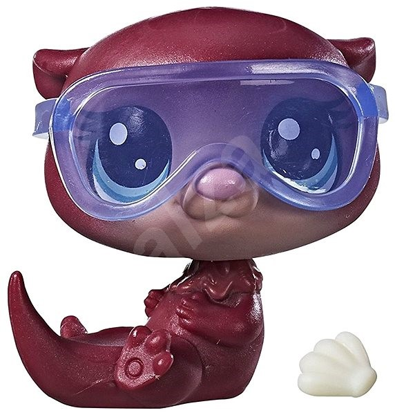6a8f87490e5 Littlest Pet Shop Mother and Baby with Accessories Trixie Otterbrook ...