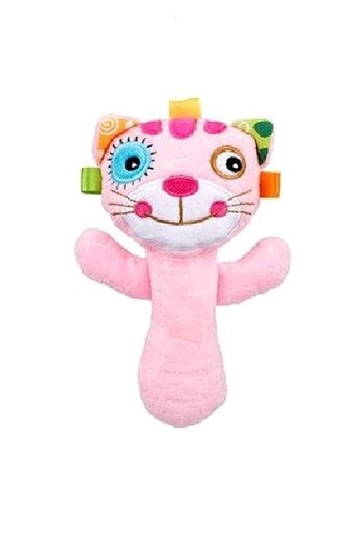 Discovery Baby Kitty Rattle - Fabric Toy