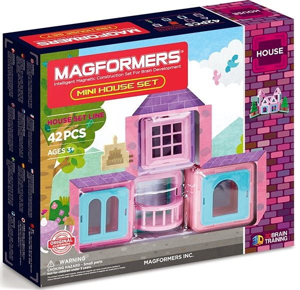 Magformers Mini House - Magnetic Building Set