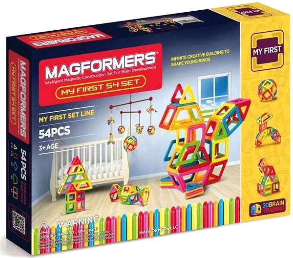 Magformers My First Magformers 54 - Educational Toy