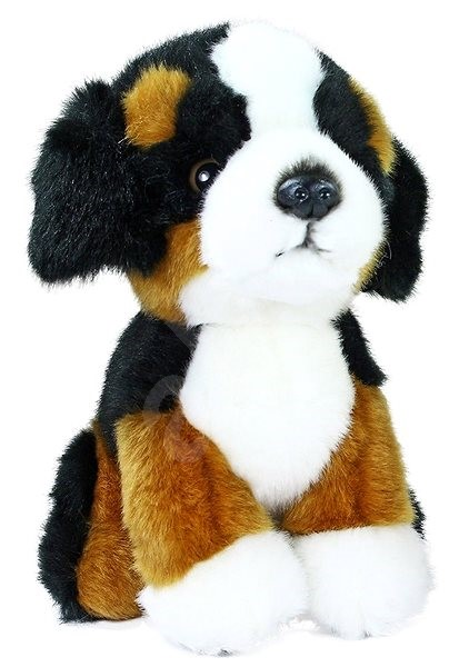 Rappa Sitting Mountain Dog - Plush Toy