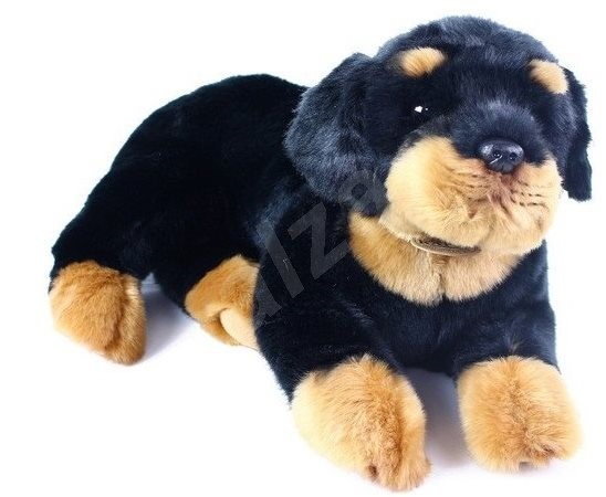 Rappa Rottweiler, Lying Down - Plush Toy