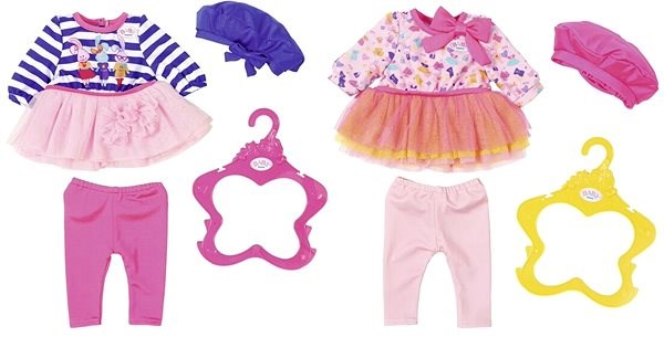 BABY Born Dress with a Hat 1pc - Doll Accessory