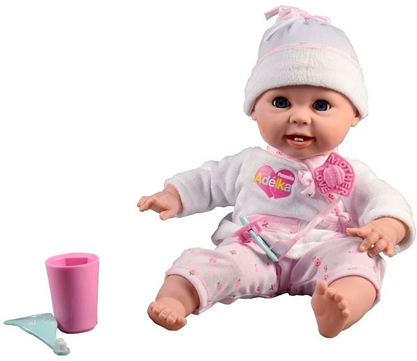 Adelka With First Teeth And Toothbrush Doll Alzashop Com