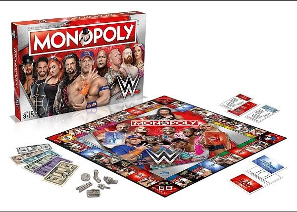 Monopoly WWE - Refresh, ENG - Board Game
