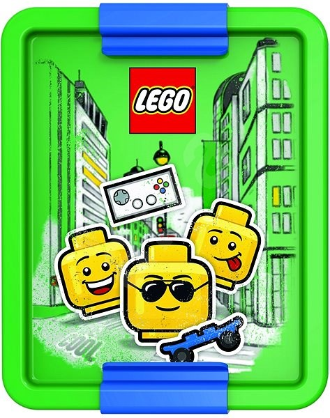 LEGO Iconic Boy, Green-blue - Snack Box