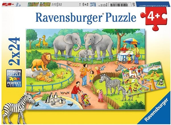 Ravensburger 78134 Day at the Zoo - Puzzle