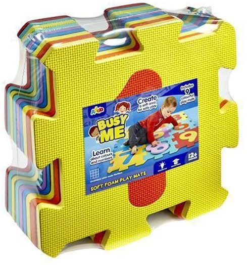 Addo Busy Me Soft Foam Play Mats Numbers - Foam Puzzle