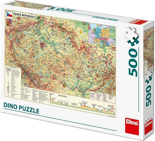 Map of the Czech Republic - Puzzle