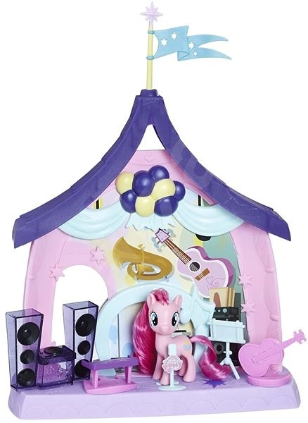 My Little Pony Play Set with Pinkie Pie 2-in-1 - Figure