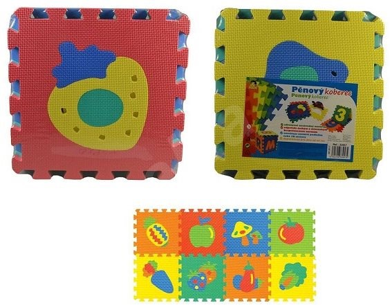 Mat of Fruits and Vegetables - Foam Puzzle