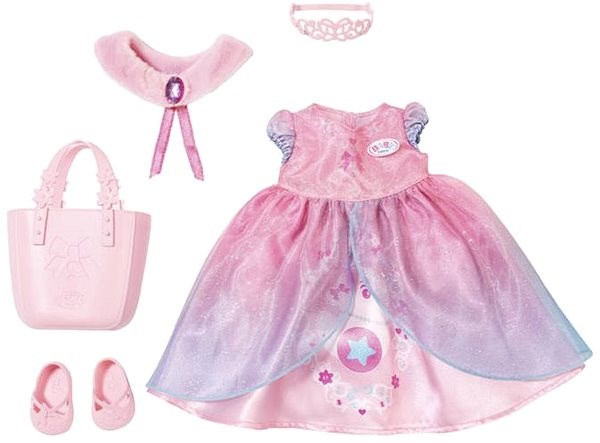 BABY Born Butik Deluxe Set of Princesses - Doll Accessory