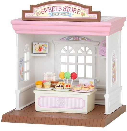 Sylvanian Families Sweets Store - Game Set
