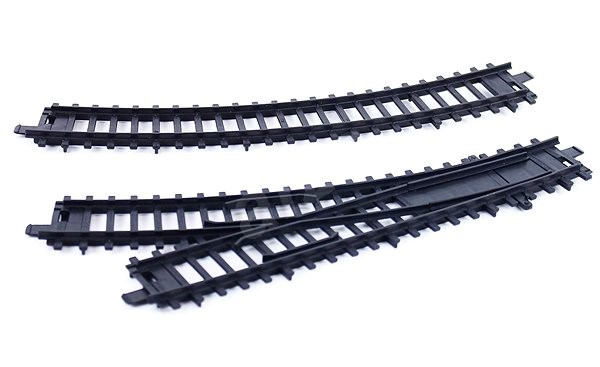 Rappa Trains and crossings for the RegioJet train - Rail set accessory