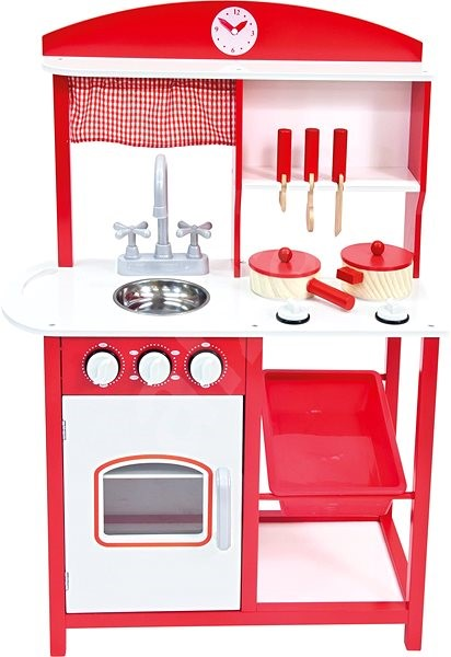 Bino Pretend Play Kitchen With Accessories Children S
