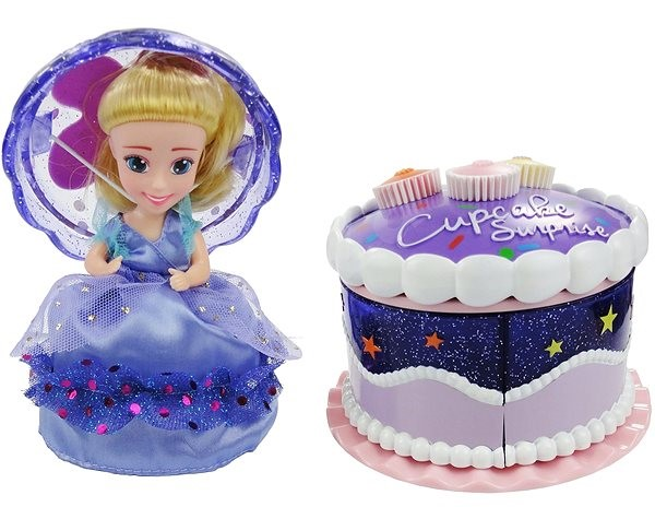 Admirable Cupcake Surprise Tea Party Cake Doll Alzashop Com Personalised Birthday Cards Paralily Jamesorg