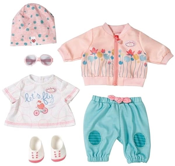 Baby Annabell Bike Kit - Doll Accessory