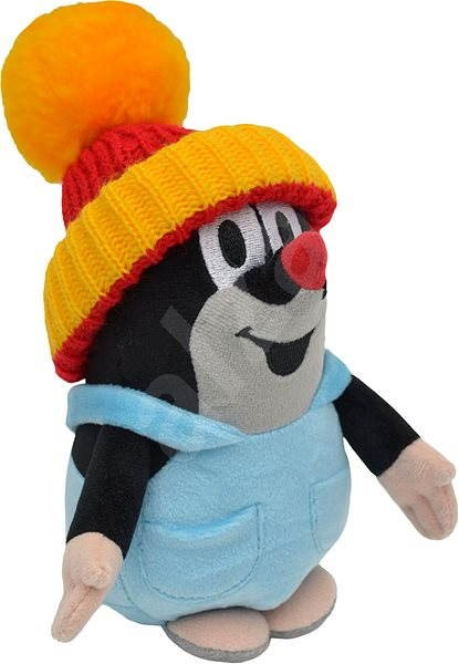 Little Mole in a Yellow Stocking Cap and Trousers 20cm - Plush Toy