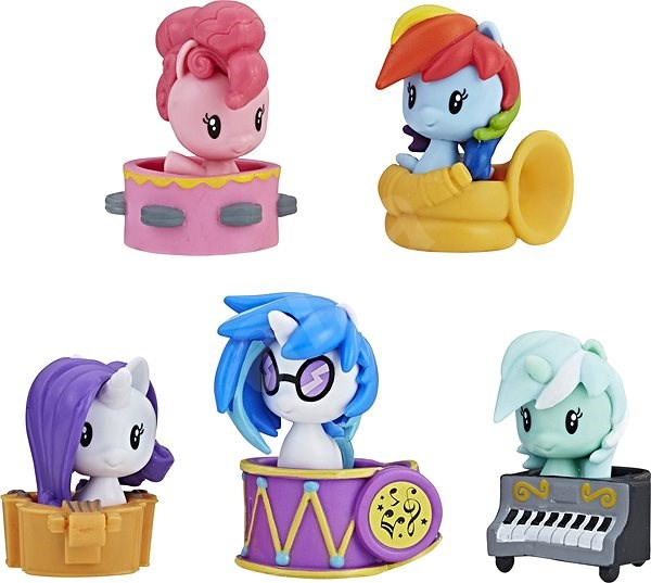 My Little Pony, Cutie Mark, Big Pack Party Performers - Figures