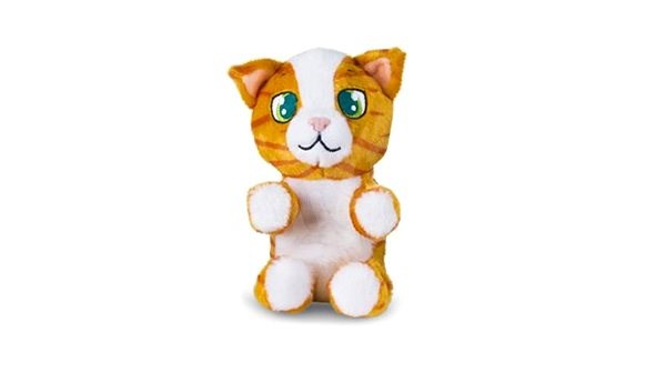 Mini Tickles Rusty Cat - Toy animal