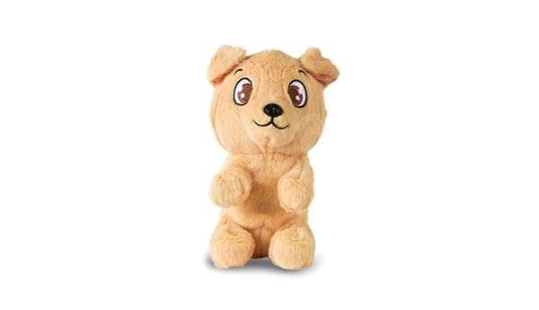 Mini Tickles Dog, Brown - Toy animal