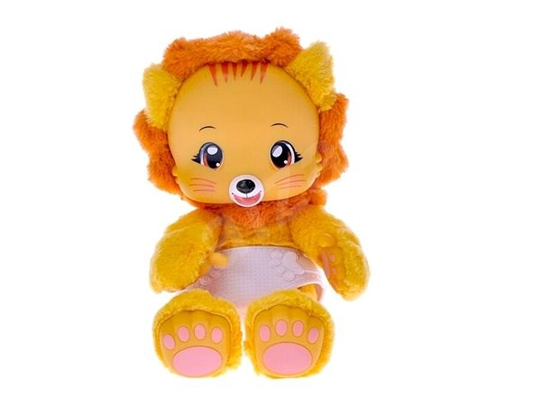 Zoopy Babies Lion Plush - Toy animal