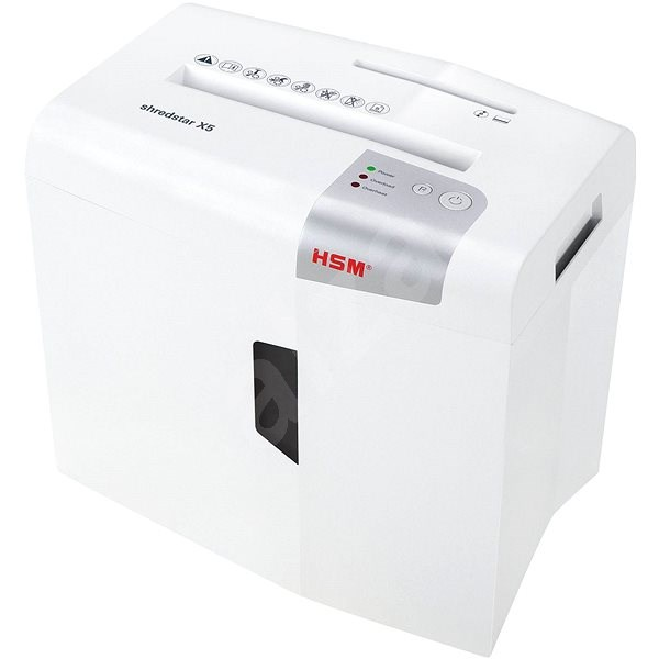 HSM shredstar X5, shred size 4.5×30mm - Paper Shredder