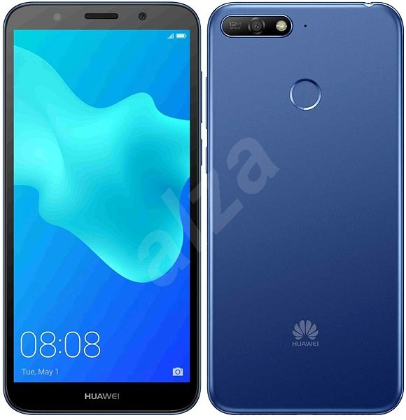 HUAWEI Y6 Prime (2018) blue - Mobile Phone  5a2a3a82147