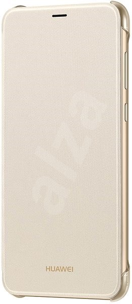 Huawei Original Folio Gold for P Smart - Mobile Phone Case