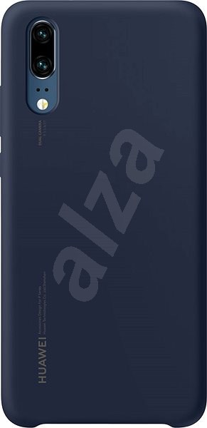 Huawei Original Silicon Blue for P20 - Mobile Case