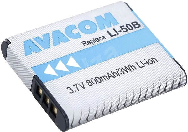 AVACOM for Olympus LI-50B Li-ion 3.7V 925mAh - Camera Battery