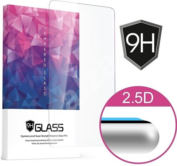 Icheckey 2.5D Silk Tempered Glass Protector Black for Honor 10 - Glass protector