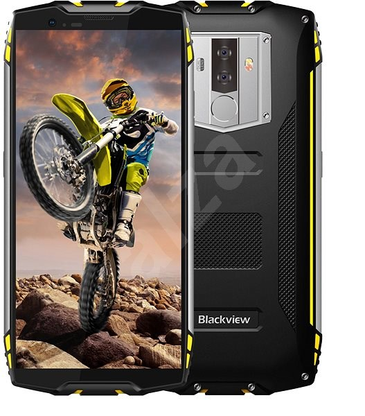 Blackview GBV6800 Pro Yellow - Mobile Phone