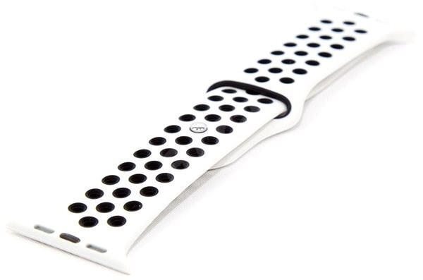 IMMAX for SW10 Watch, White-black - Watch band