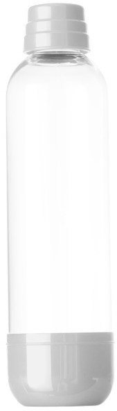 LIMO BAR Soda Bottle 1l - White - Replacement Bottle