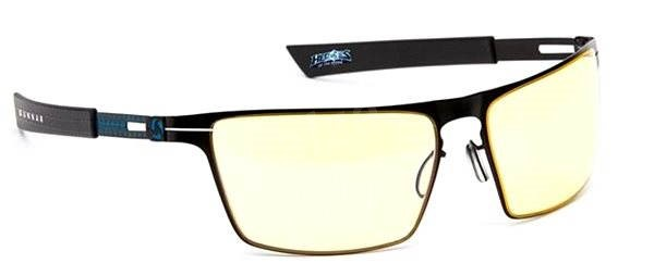 GUNNAR Gaming Collection Heroes of The Storm Siege, Onyx Ice/Yellow - Glasses