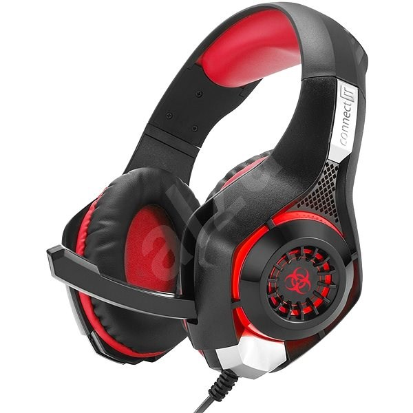 CONNECT IT CHP-4510-RD Gaming Headset BIOHAZARD - Gaming Headset
