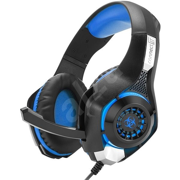 CONNECT IT CHP-4510-BL Gaming Headset BIOHAZARD blue - Gaming Headset