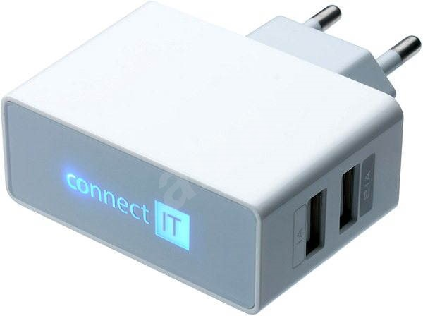 CONNECT IT CI-151 Dual Charger 230V white - Charger
