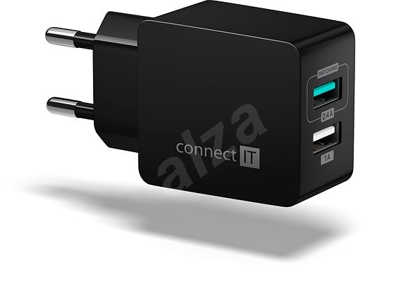 CONNECT IT Fast Charge CWC-2015-BK Black - Charger