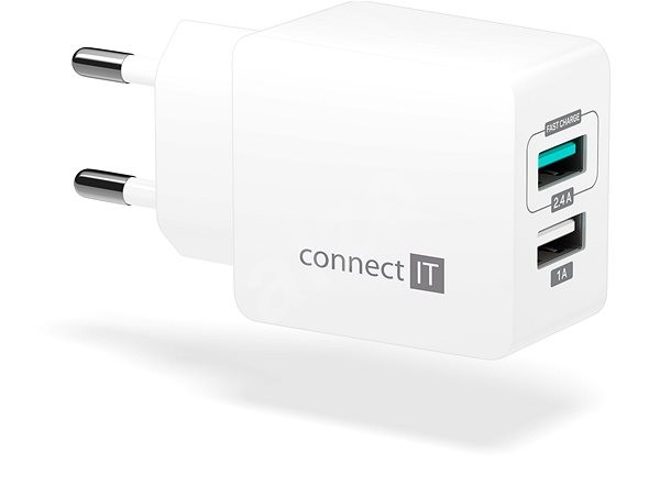 CONNECT IT Fast Charge CWC-2015-WH white - Charger
