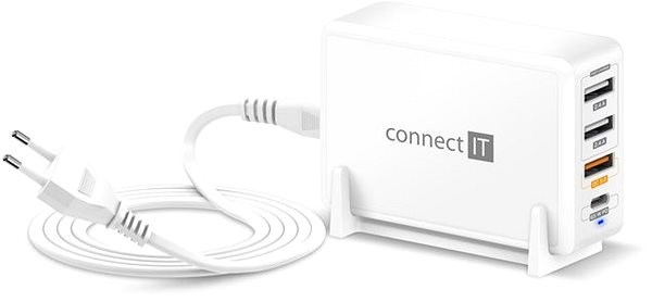 CONNECT IT Fast Charge CWC-4090-WH, White - Charger