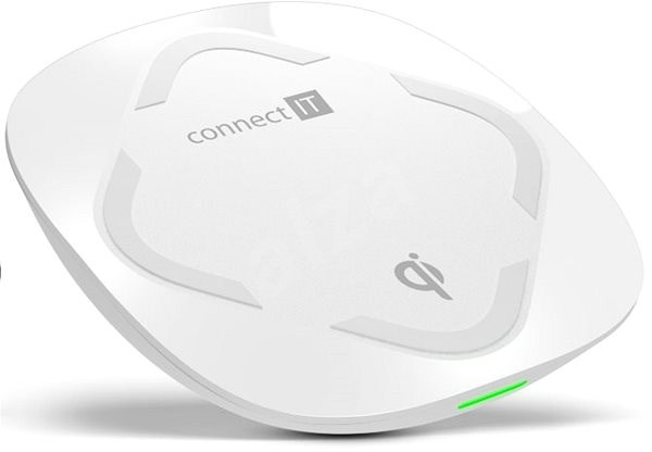 CONNECT IT Qi Certified Wireless Fast Charge White - Wireless Charger
