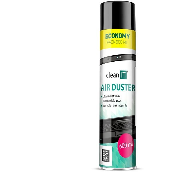 CLEAN IT Compressed air 600g - Cleaner