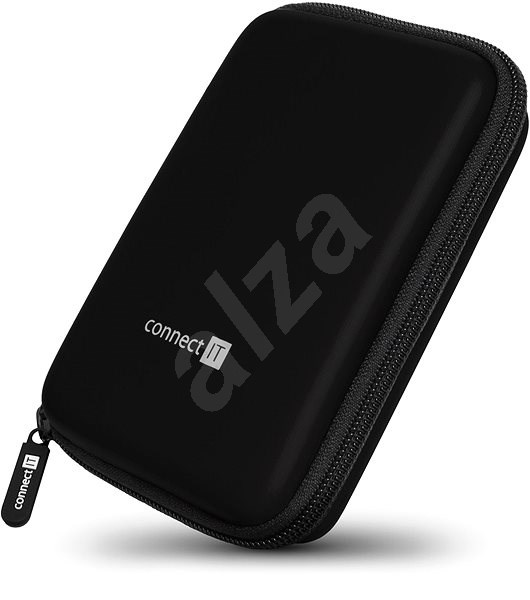 """CONNECT IT HardShellProtect 2.5"""" Black - Hard Drive Case"""