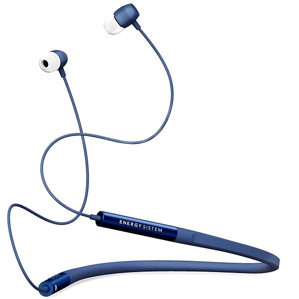 Energy System Earphones Neckband 3 Bluetooth Blue - Headphones with Mic