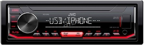 JVC KD-X262 - Car Stereo Receiver