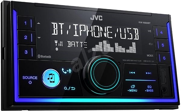 JVC KW-X830BT - Car Stereo Receiver