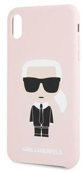 Karl Lagerfeld Full Body for iPhone 7/8, Pink - Mobile Case
